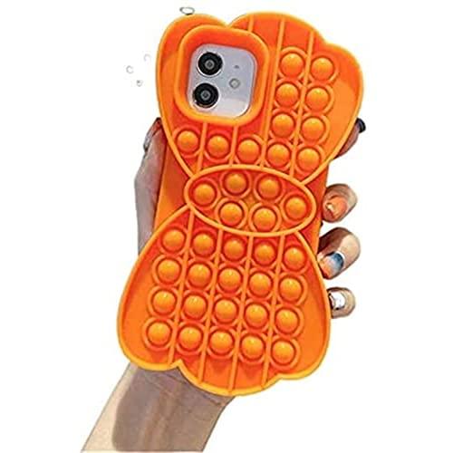 Odnryx Fidget Fidget Fidget Fidget, Fidget Sensory Mobile Phone Case, iPhone6, 7, 8, 6P, 7p, 8p, X, XS, XS MAX, XR, 11, 11pro, 12, 12pro, 12pro MAX (iPhone 78, r Color)
