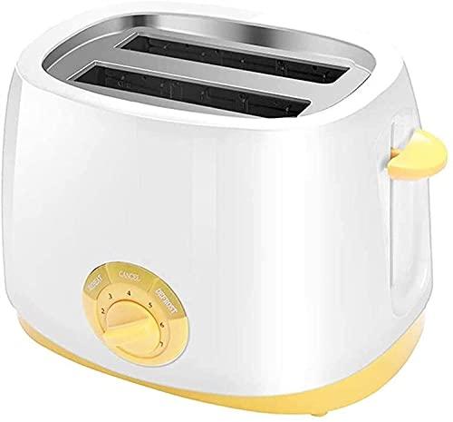 Bradoner Pan Tostado de Pan Amplio Tostador de tostadora tostadora automática multifunción automática de 2 Piezas del Conductor del Suelo de 2 Piezas Máquina de Desayuno Bandeja de Migas