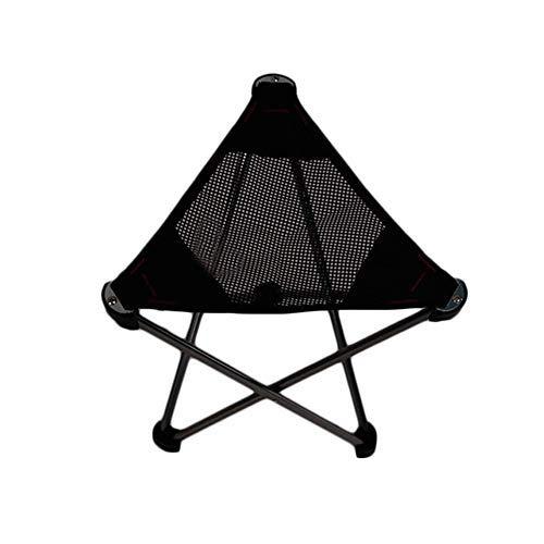 Edward Jackson Ultraleichter Kleiner Campingstuhl Folding Camping Hocker Außen Ultra Light Aluminium Dreieck Klapphocker Tragbare Camping-Skizze Fischen-Stuhl Outdoor