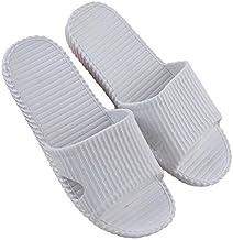 Unisex Women Men Shoes Bathroom Skidproof Flat Sandals Summer Home Bathroom Slippers Casual Indoor Beach Slippers