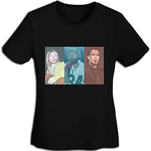 Henrnt Camisetas Sin Manga Mujer/Chaleco,Verano Camiseta Tirantes, Aggretsuko Retsuko Women Sports Black T-Shirts Short Sleeve