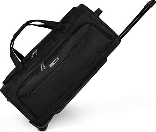 normani Reisetasche 2-Rad Trolley Weichgepäck Reisetasche mit Rollen Sporttasche 75 oder 100 Liter Größe 100 Liter