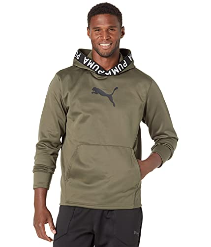 PUMA mens Train Pwrfleece Hoodie Hooded Sweatshirt, Grape Leaf, XXLarge US