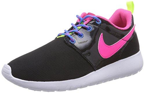 Nike Roshe One GS, Scarpe da Ginnastica Basse Donna, Nero (Black 599729-011), 37.5 EU