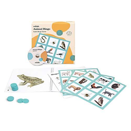 Relish Animal Bingo Game - Actividades de Alzheimer y demencia, juegos y productos para ancianos/personas mayores