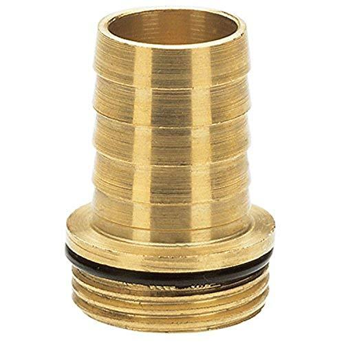 Gardena Messing-Tülle: Messing-Anschlussstück für Fuß- und Zwischenventile, passend für 19 mm (3/4 Zoll)-Schläuche (7250-20)