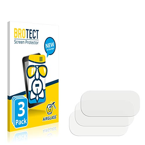 BROTECT Protector Pantalla Cristal Compatible con Samsung Galaxy Z Flip 5G (Cámara) Protector Pantalla Vidrio (3 Unidades) Dureza 9H AirGlass
