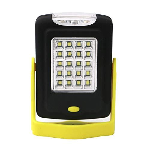 Lechnical 23 LED Magnetic Work Light Taschenlampe Taschenlampe mit klappbarem Aufhängehaken für Campingbeleuchtung im Freien