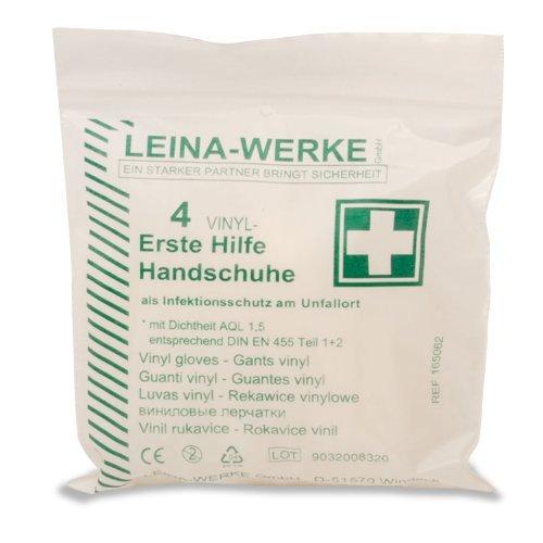 Leina REF43011 4 Erste-Hilfe-Handschuhe