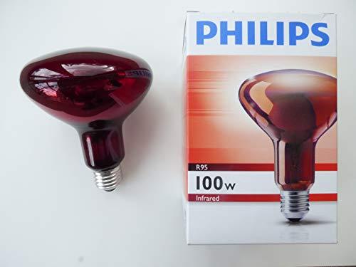 Philips Infrarot Reflektorlampe R95, 100W, 220V