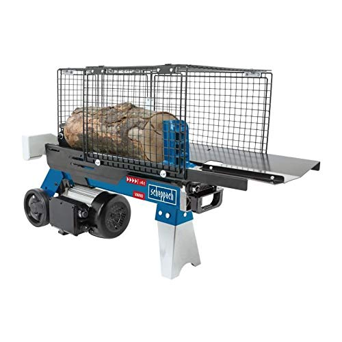 SCHEPPACH HL460 Hydraulikspalter Holzspalter bis 370 mm | 4 Tonnen Spaltkraft 4t | Brennholzspalter 230 V | Holzspalter liegend 1500 W
