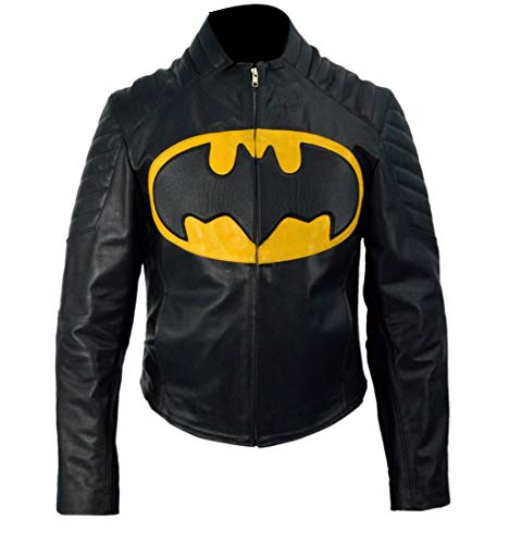 Feather Skin Männer Kleidung Batman The Lego Lederjacke- XL