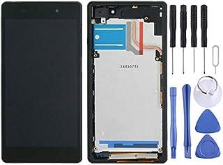 LCD-skärm + pekskärm med ram för Sony Xperia Z2 / D6502 / D6503 / D6543 Mobiltelefonreparation Delar