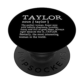 Adult Definition - First Name Taylor - Pop Socket PopSockets PopGrip  Swappable Grip for Phones & Tablets
