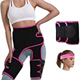 Thigh Waist Trainer Corset for Women Men Long Torso Weight Loss Working Out Everyday Wear Plus Size 4 in 1 Hip Enhancer Invisible Lift Butt Lifter Shaper Forearm Trainers Abdomen Trimmers