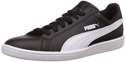 Puma Unisex-Erwachsene Smash Leather-356722 Low-Top, 43 EU, Schwarz, 43 EU