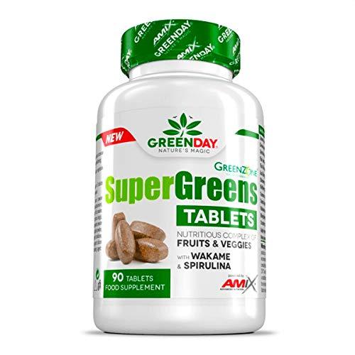 Amix Greenday Super Greens Tablets 90 Tabl, 132.7 g