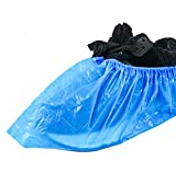 Auch 100 Pack (50 Pairs) Disposable Shoe Covers, Durable Waterproof & Anti-Slip Boot