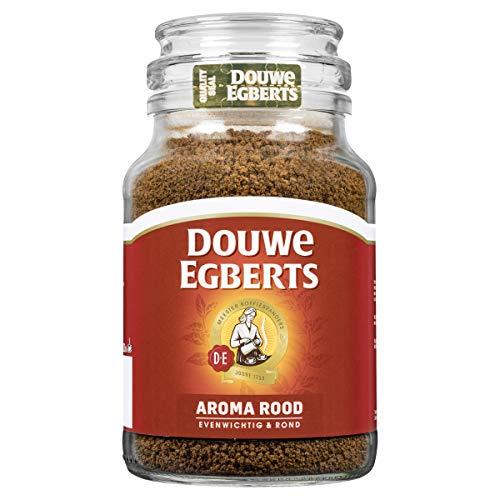 Douwe Egberts Aroma Rood Oploskoffie, 6 x 200 Gram Pot