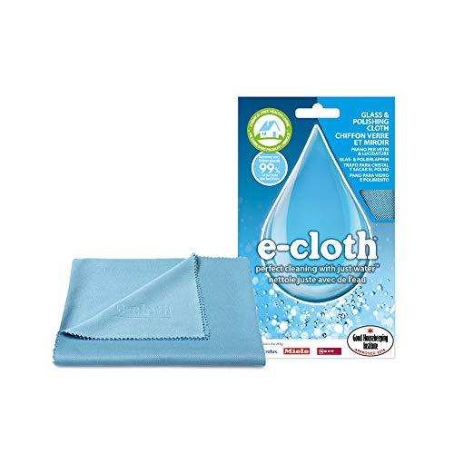 Polti EGC E-Cloth - Mikrofaser - Poliertuch für Glas, Edelstahl und andere glänzende Oberflächen, Andere