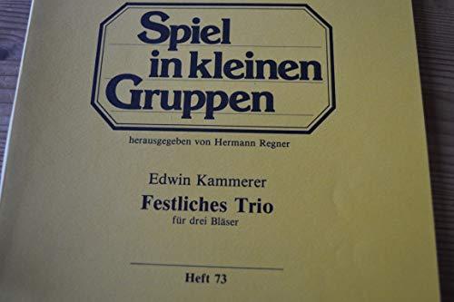 Edwin Feestelijke trio voor drie blazers