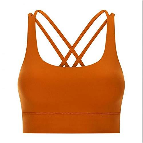 WFRH Plus-Size S-XXL Back Cross Fitness Bra Women Shockproof Gather Gym Sports Bra Quick-Drying Running Vest Tie Dye Yoga Crop Top