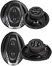 "$75 » Boss NX654 6.5"" 400W + NX694 6x9 800W 4-Way Car Audio Coaxial Speakers (2 Pack)"