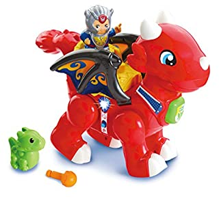 VTech Toot-Toot Friends Daring Dragon Interactive Baby Musical Toy, Dragon Toddler Toy with Music & Sound Effects, Includes Role Play Mode, Suitable for Boys & Girls 1, 2, 3, 4+ Year Olds (B07Q4JW2HJ)   Amazon price tracker / tracking, Amazon price history charts, Amazon price watches, Amazon price drop alerts