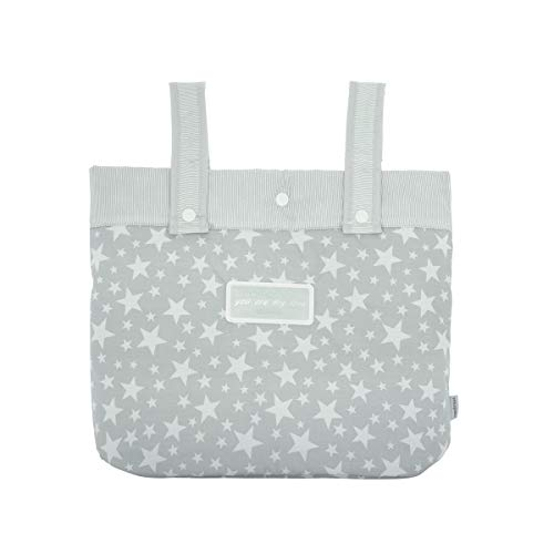 Cambrass Star - Bolso maternal panadera para carro bebe, color gris