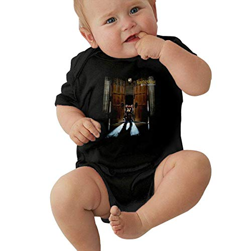 Kanye West Late Registration Baby Jersey Boy Girl Bodysuit Funny Baby Short Sleeve Romper
