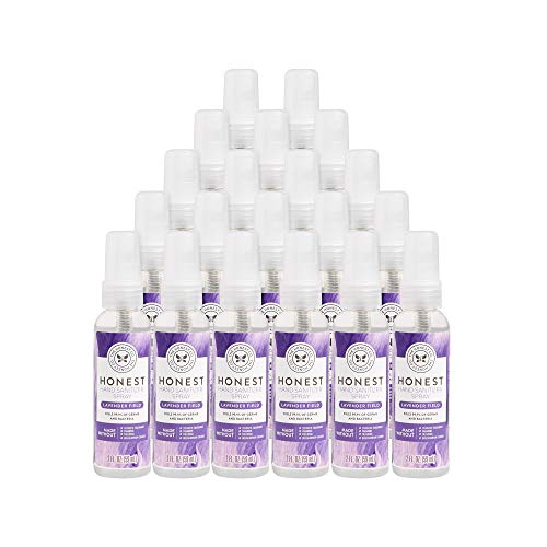 The Honest Company Hand Sanitizer Spray, 2oz, Lavender Field, 20 Pack, 20 Count