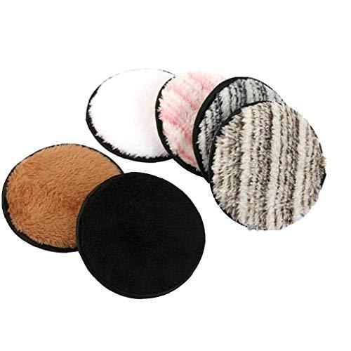 Makeup Remover panno Pad Puff su due lati istantaneamente informazioni con solo acqua Salviette per 6PCS scrubbedser viso