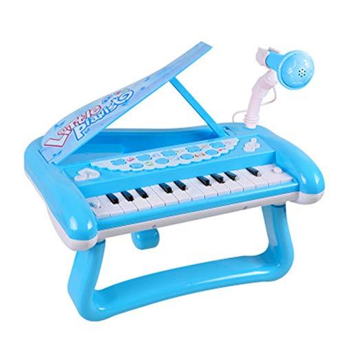 Piano vertical para niños Piano de juguete para niños Piano juguete por 1 ~ 4 años niñas Instrumento musical educativo Piano Teclado de juguete para niños pequeños chicas Piano de niños multifuncional