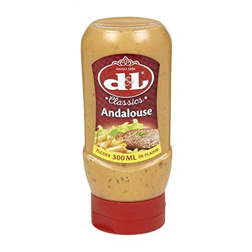 Devos Lemmens Andalouse, D&L Würzige Sauce, Soße, 300 ml Kunststoff-Flasche