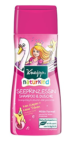 Kneipp Naturkind See Prinzessin Shampoo und Dusche, 6er Pack (6 x 200 ml)