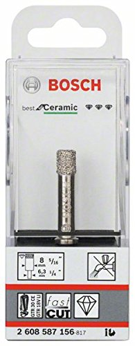 Bosch Professional Diamant-Bohrer trocken Best for Ceramic (Ø 8 mm)