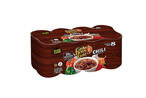 Beef Chili with Beans 8/15 Oz. by Cattle drive gold