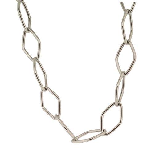 Orphelia Damen-Kette ohne Anhänger 925 Silber rhodiniert 51 cm - ZK-2720