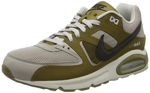 Nike Herren AIR MAX Command Laufschuhe, Mehrfarbig (Moon Particle/Black-Olive Flak-Vast Grey 201), 42 EU
