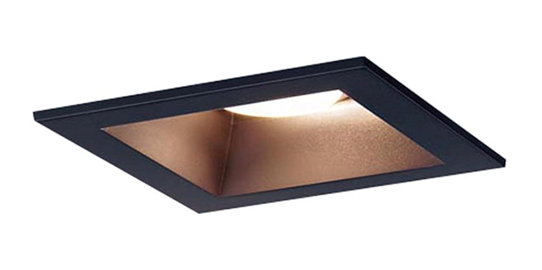 Panasonic LED ダウンライト 天井埋込型 100形 拡散 調色 黒 LGB71061LU1