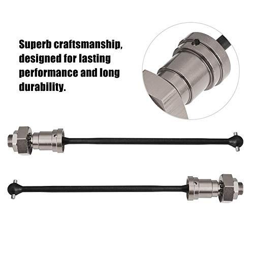 Vordere Antriebswelle, 1 Paar vordere hintere Antriebswelle CVD Dogbone-Upgrade-Teil für 1/5 RC Car RC-Zubehör(Titangrau)