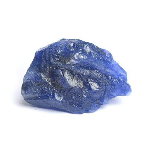 Natural Raw Rough Gemstone 87.00 Ct Rare Blue Sapphire Loose Gemstone for Reiki and Energy Crystal