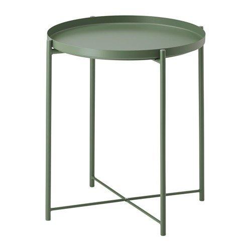 Ikea gladom Vassoio Tavolo in Verde Scuro; (45x 53cm)