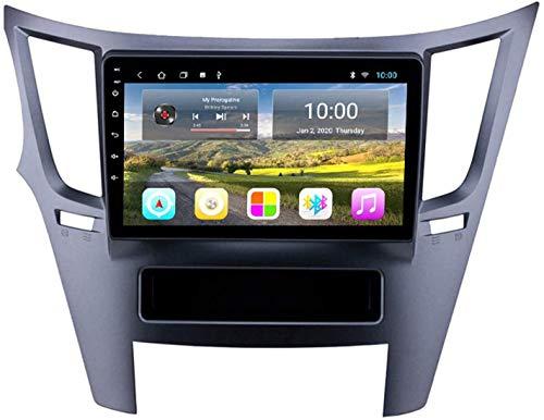 Navegador estéreo para automóvil compatible con Subaru Outback 2010-2014 Reproductor multimedia resistivo digital con Bluetooth Mirror Link Receptor de radio de respuesta de llamadas FM AM, 8core