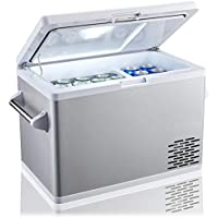 Ausranvik 45 Quart (42L) Portable Fridge For Car Freezer