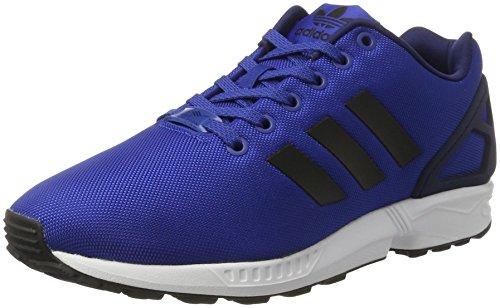 Adidas Zx Flux, Scarpe da Corsa Unisex Adulto, Blu (Collegiate Royal/core Black/ftwr White), 42