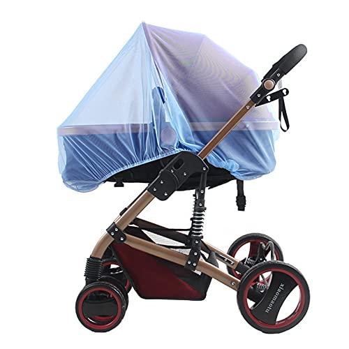 Huaji Cubierta de malla para cochecito portátil transpirable y cómoda red universal para asientos de coche cuna mini cuna