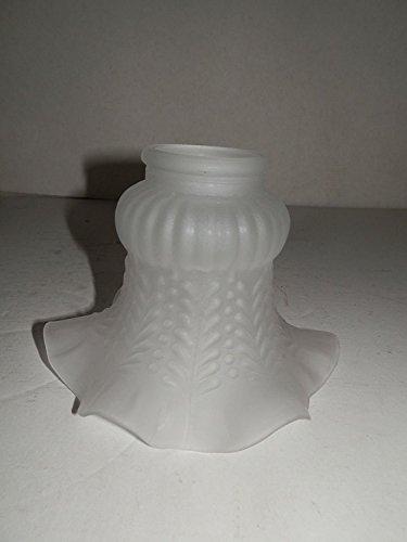 Campanella Paralume Vetro di ricambio per lampade e lampadari In ferro ed ottone