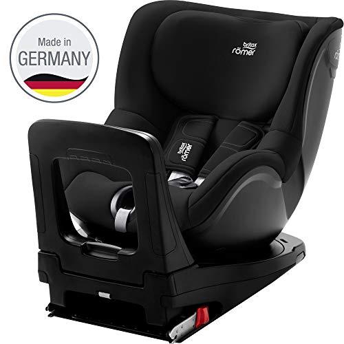 Britax Römer Reboarder Kindersitz 3 Monate - 4 Jahre I bis 18 kg I DUALFIX Z-LINE Autositz Drehbar Isofix Gruppe i-SIZE I Cosmos Black