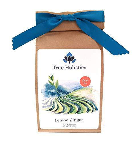 True Holistics Luxury Tea Pyramids - Choice of Organic Teas (Lemon & Ginger)